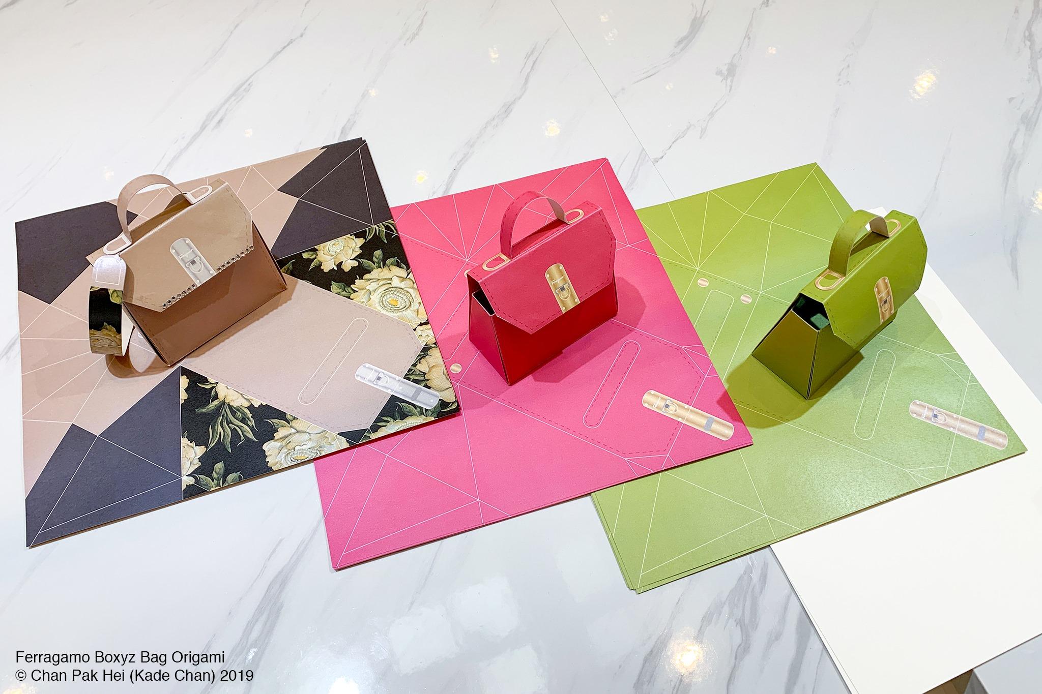 Ferragamo BOXYZ Origami