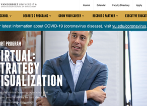 Nour Virtual Strategy Visualization Course, April 15-16, via Vanderbilt Owen
