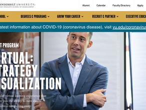 Nour Virtual Strategy Visualization Course, April 15-16, via Vanderbilt Owen