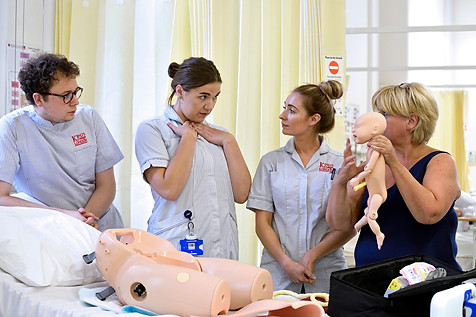 science, research, medical research, doctor, Dr, nurse,  nursing, midwife, midwifery, pre natal, baby, nursing student, medical student, university, college, teaching hospital, hospital