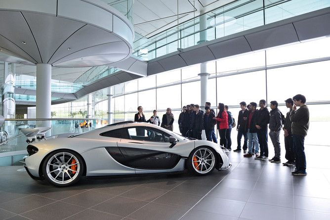 Event, function, educational visit, education, students,  art students, science students,  charity, F1 Formula1, maclaren