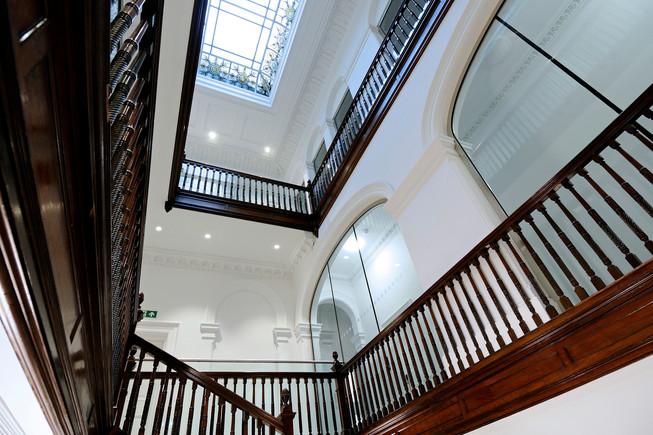 interiors, hotel,  hotel interiors, public space, commercial space,  university, atrium, stairwell