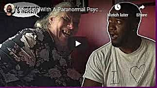 Youtube Video Messing With a Paranormal Psychic