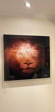STAR LEO  (acrylic glass)