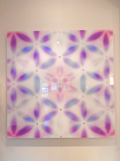 PINK MERKABA  (acrylic glass)