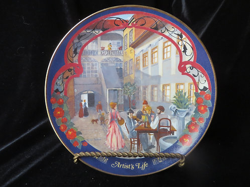 """""""Artist's Life""""  Collector's Plate"""