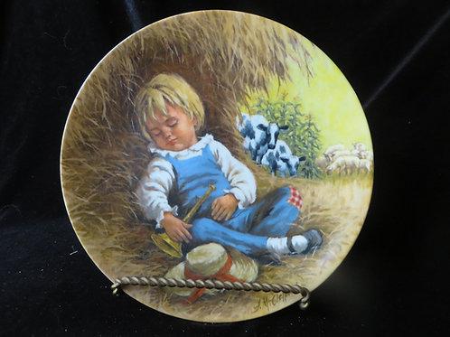 """Little Boy Blue"" Collector's Plate"