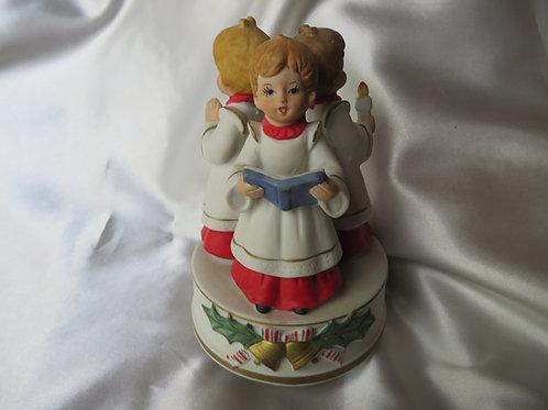 Vintage Caroler's Music Box