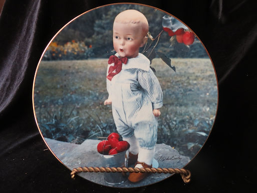 """""""The Whistler"""" Collector's Plate"""