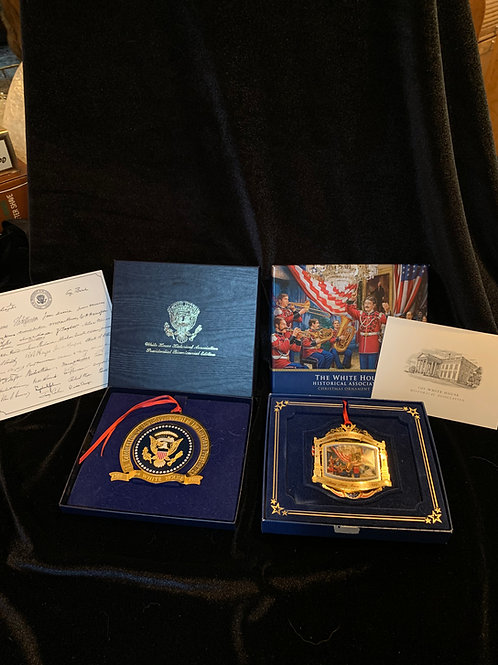 Presidential and Stars and Stripes Ornaments
