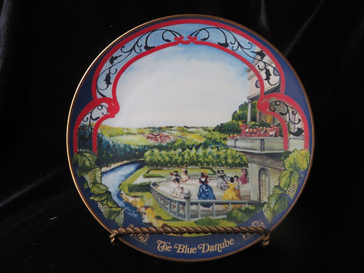 """""""The Blue Danube"""" Collector's Plate"""