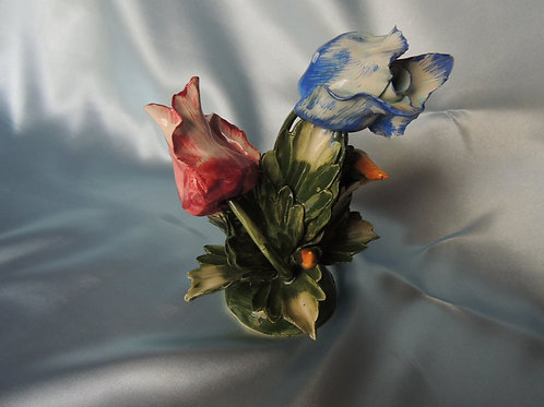 Hand Crafted Porcelain Roses