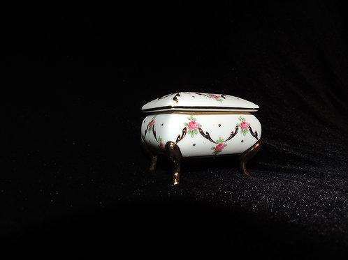 Porcelain Trinket Box