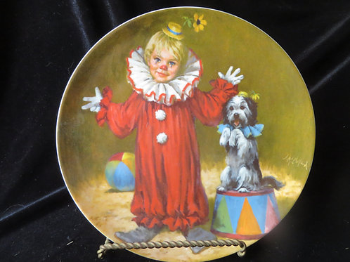 """""""Tommy the Clown"""" Collector's Plate"""