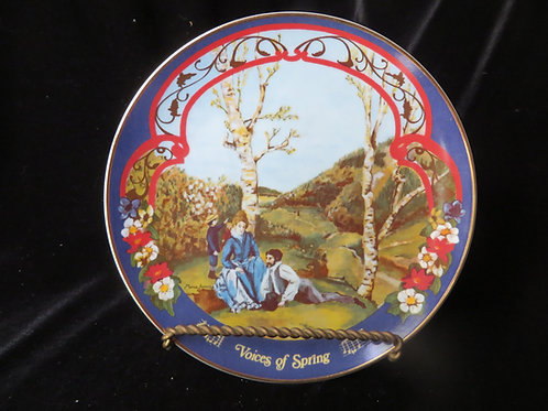 """""""Voices Of Spring"""" Collector's Plate"""