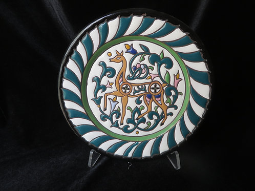 Spanish Handcrafted Plate