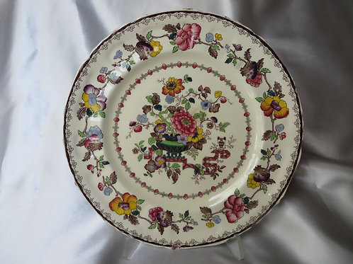 Mason's China Floral Plate