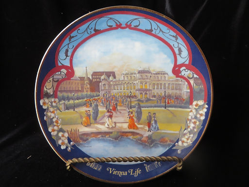 """""""Vienna Life"""" Collector's Plate"""