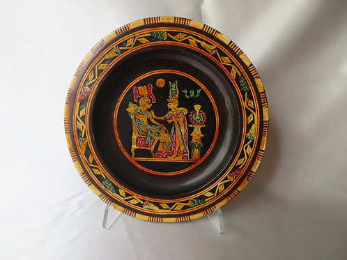 Egyptian Wooden Plate