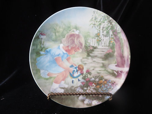 """""""Stop and Smell the Roses"""" Collector's Plate"""