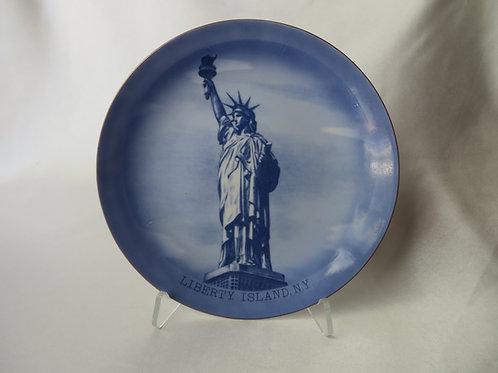 Liberty Island NY Plate