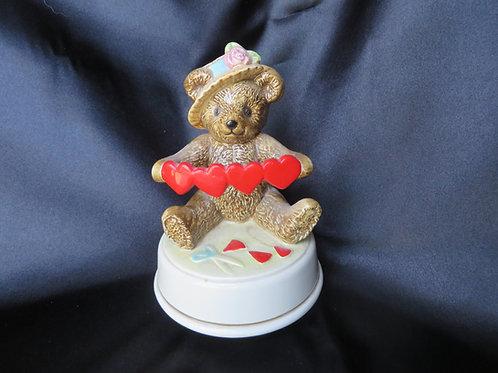 Valentine Bear Music Box