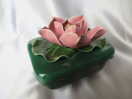Emerald Green Trinket Box