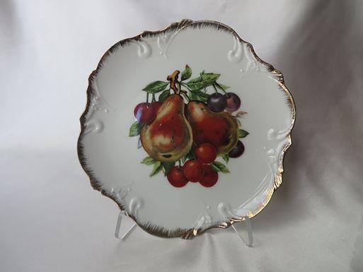 Vintage Gold-Trimmed Plate
