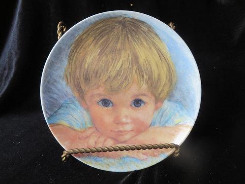 """""""I Wish, I Wish"""" Collector's Plate"""