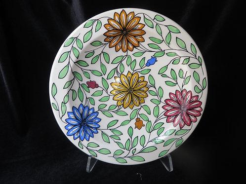 Floral Decorative Plate