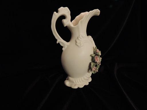 Unglazed Rose Vase