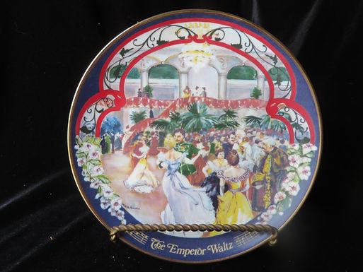 """The Emperor Waltz""  Collector's Plate"
