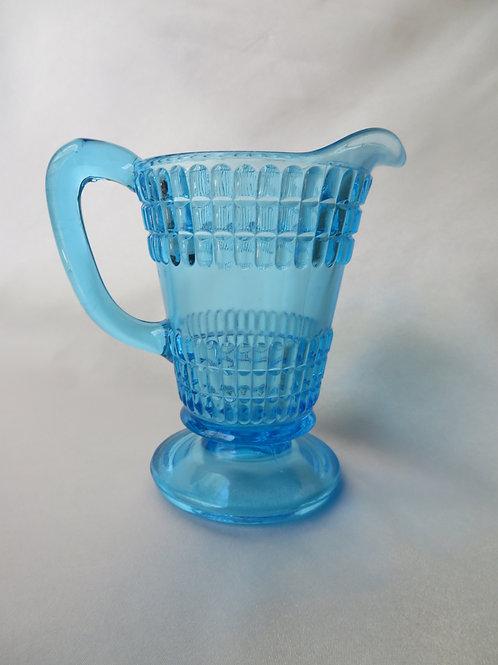 Blue Glass Creamer