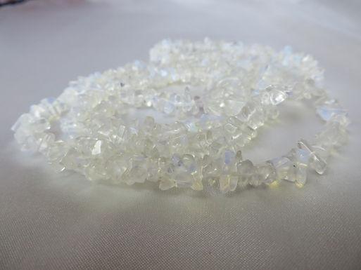 Vintage Glass-Strung Necklace