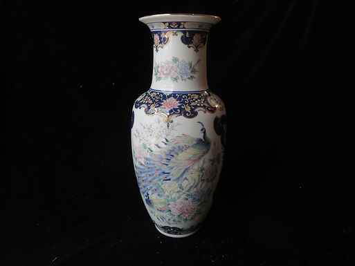 Chinese Porcelain Peacock Vase