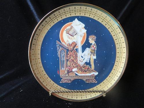 """""""St. Agnes' Eve"""" by J.C. Leyendecker"""