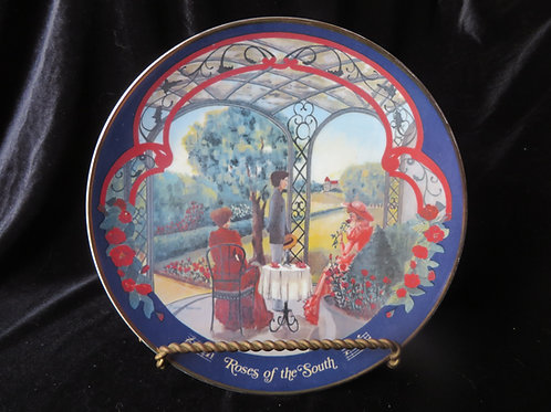 """""""Roses of the South"""" Collector's Plate"""