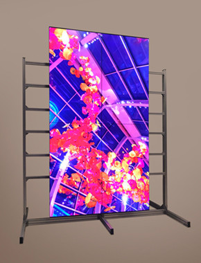 LCD TV Wall