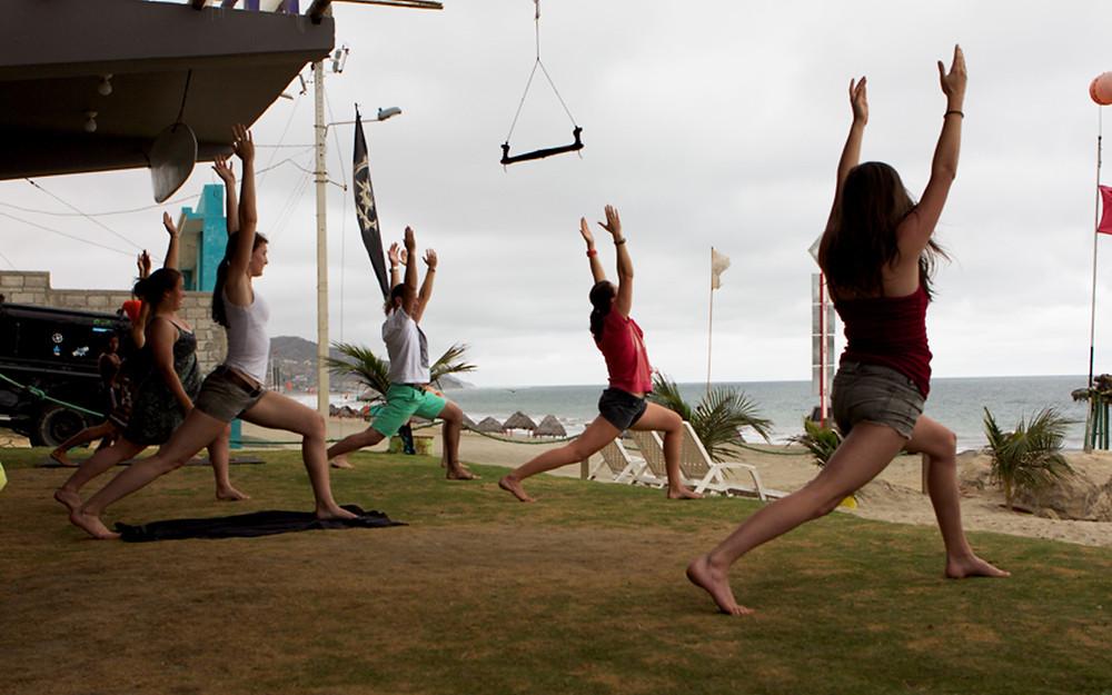 Spanish and Yoga