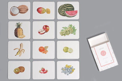 Fruits Nomenclature/Classified Cards for IC