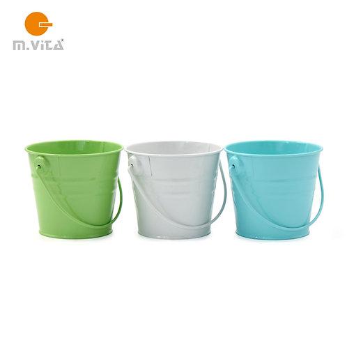 Mini Metal Bucket 3 Color Options