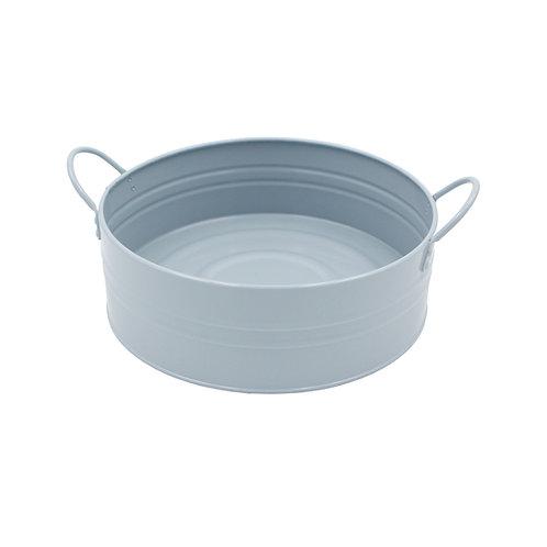 Metal Washpan/Basin Blue Color