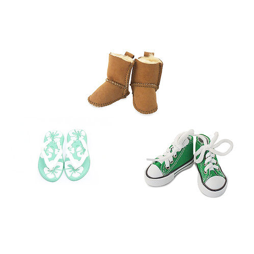Mini shoes Montessori Language Replicas