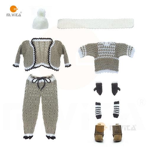 Crochet Clothing Replicas Handmade