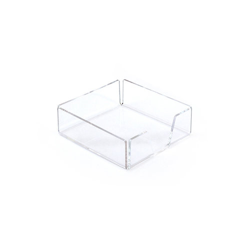 Acrylic note pad paper holder