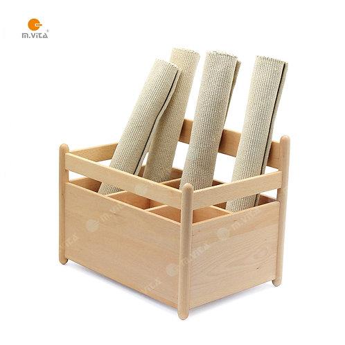 Montessori Rug Holder
