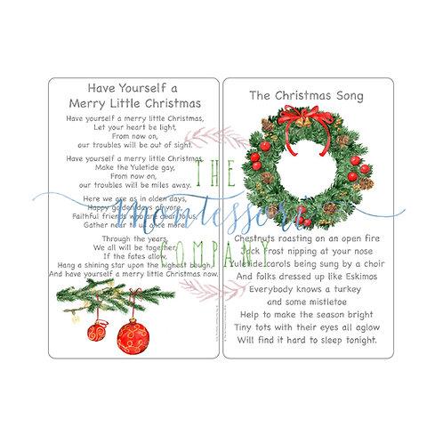 Christmas Songs Merry Little Christmas, The Christmas Song