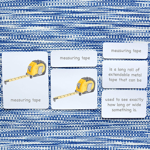 5 PART CARDS: TOOLS