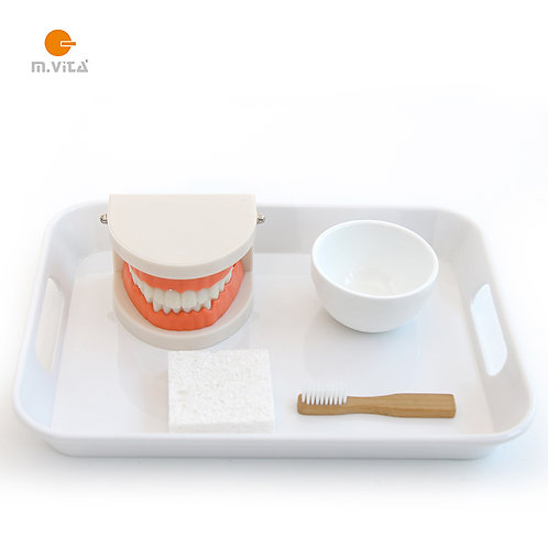 Brushing teeth activity set