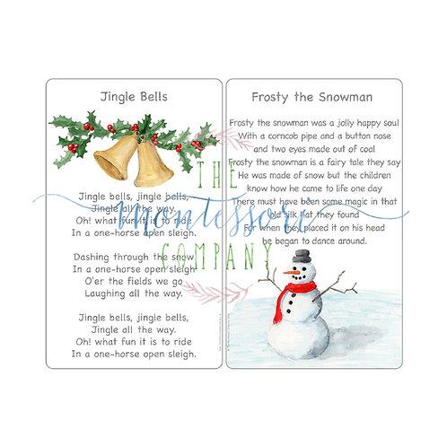 Christmas Songs Jingle Bells, Frosty the Snowman